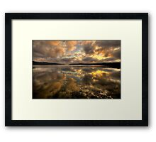 Genuflection - Narrabeen Lakes, Sydney - The HDR Experience Framed Print