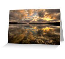 Genuflection - Narrabeen Lakes, Sydney - The HDR Experience Greeting Card