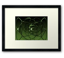 Abstract Digital Background Framed Print