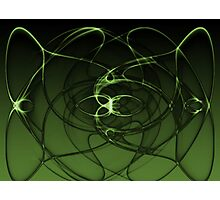 Abstract Digital Background Photographic Print