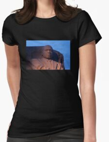 He Had a Dream Womens Fitted T-Shirt