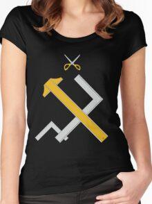 Girls und Panzer - Pravda Women's Fitted Scoop T-Shirt