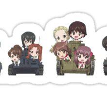 Girls und Panzer - Oarai Girls Sticker