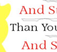 Winnie The Pooh Quote Sticker