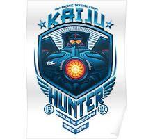 kaiju hunter Poster