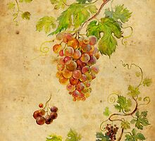Bunch of grapes by Svetlana Mikhalevich