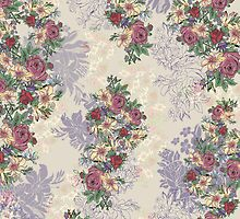 Wallpaper Floral by franklyroo