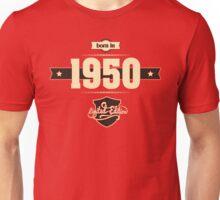 Born in 1950 (Cream&Choco) Unisex T-Shirt