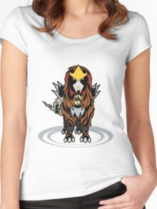 Tribal Entei Women's Fitted Scoop T-Shirt