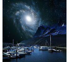 Galaxies Edge Harbour Photographic Print