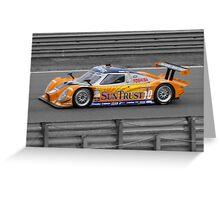 Suntrust racing Greeting Card