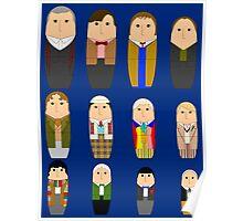 Doctor Who Babushka Dolls Poster