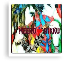 gundam wing heero and rikku strange love Canvas Print
