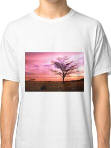 Twilight On The Savanna  Classic T-Shirt