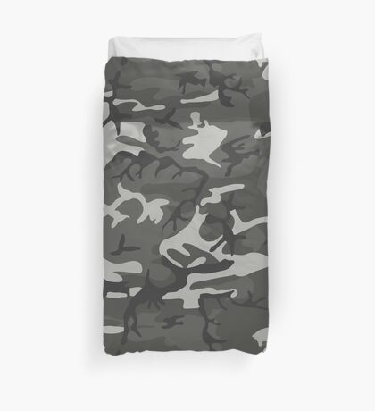 Camouflage (Camo) Pattern Duvet Cover