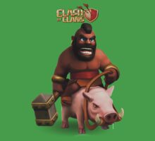 clash of clans soldier Kids Clothes