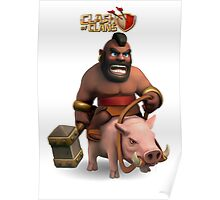 clash of clans soldier Poster
