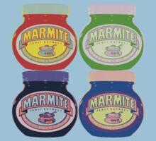 Marmite pop art Kids Clothes