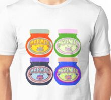 Marmite pop art Unisex T-Shirt