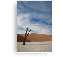 Stand true to the day  Canvas Print