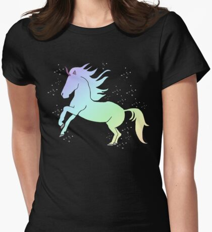 Unicorns! Womens Fitted T-Shirt
