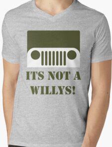 WW2 Ford GPW Jeep  Mens V-Neck T-Shirt