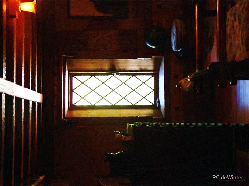 In the Lattice-Windowed Attic by RC deWinter