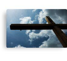 San Antonio Mission Cross Canvas Print