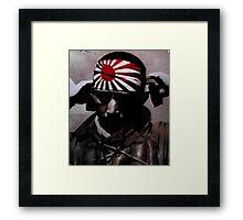 Kamikaze Framed Print