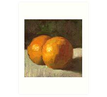 Orange Citrus  Art Print