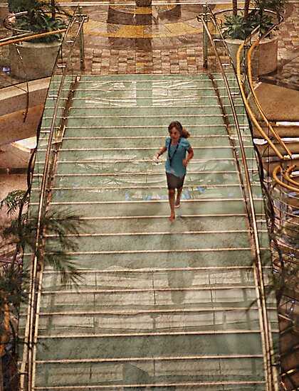 Glass Bridge, Liberty of the Seas by Yannik Hay