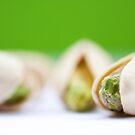 Pistachio on pistachio by Rachael Talibart