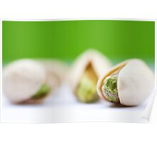 Pistachio on pistachio Poster