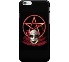 Mask of the Vampire iPhone Case/Skin