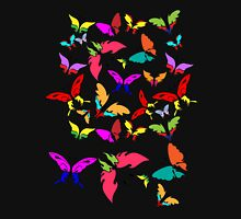 Colorful Butterflies Pattern  Unisex T-Shirt