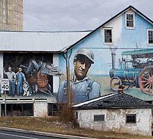 Lancaster County Barn Mural by Mark Van Scyoc