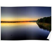 Dawn - Lake Joondalup Poster