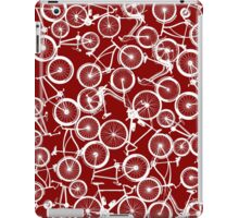 Pile of White Bicycles iPad Case/Skin