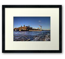 Escape from Ellis Island Framed Print