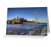 Escape from Ellis Island Greeting Card