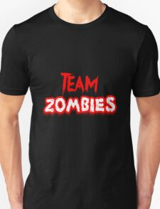 Team Zombies Scary Unisex T-Shirt
