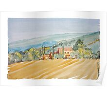 Farm in Provence Poster