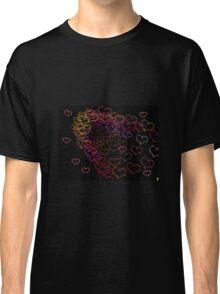 Recoursive hearts Classic T-Shirt