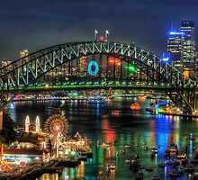 Fantasia - Sydney New Years Eve - The HDR Experience by Philip Johnson