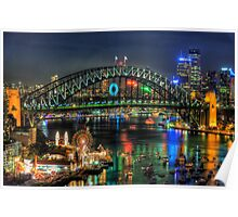 Fantasia - Sydney New Years Eve - The HDR Experience Poster