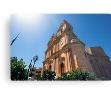 Mellieha Parish Church, Malta Metal Print