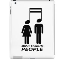Music and people iPad Case/Skin
