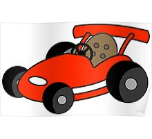 Kids Little Go-Kart Poster