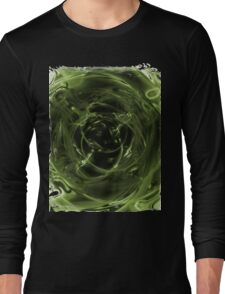 Abstract Digital Background Long Sleeve T-Shirt