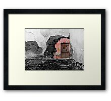 Decadent building Framed Print